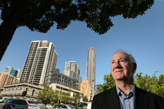 Reimagining Melbourne: Emeritus Professor Michael Buxton says high-rise buildings could be the first planning casualty of COVID-19.