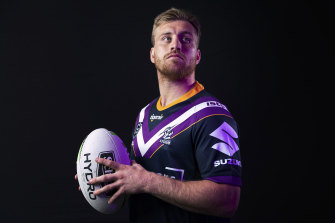 One of the leaders: Cameron Munster.