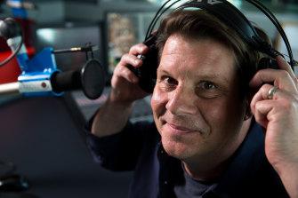 SmoothFM 95.3's drive host, Byron Webb.