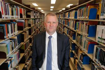 Deakin vice-chancellor Iain Martin.