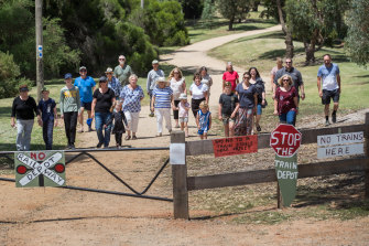 Heatherton locals have campaigned for over two decades for a park on land that is now set to be used for a train line and train stabling.