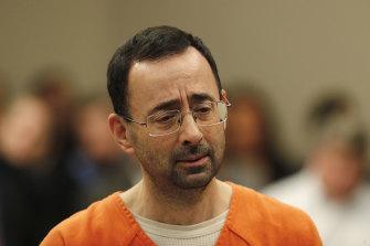 Larry Nassar mengaku bersalah atas berbagai tuduhan pelecehan seksual.