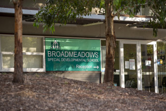 Broadmeadows Special Developmental School is in a COVID-19 hotspot.
