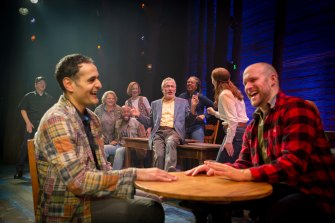 Come from Away, now showing in Sydney, tells of the calamitous hours after 9/11.