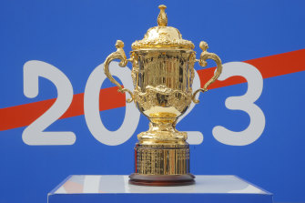 The 2023 Rugby World Cup draw took place in Paris on Monday evening AEDT.