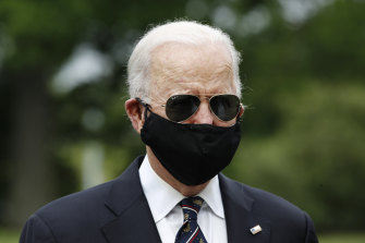 Democratic presidential candidate Joe Biden has jumped ahead in the polls.