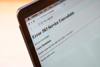 Many websites were down for more than an hour after a problem at US-based Fastly.