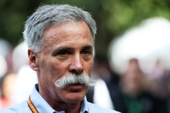 Formula One Group CEO Chase Carey.