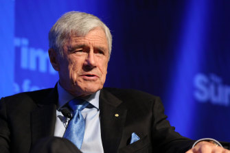 Seven Network chairman and Ben Roberts-Smith's boss Kerry Stokes.