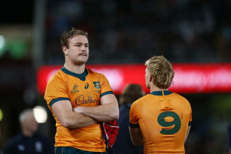 Harry Wilson and Tate McDermott know the taste of Bledisloe Cup defeat too well.