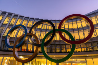 The Olympic charter prohibits any protest or political statement by athletes.