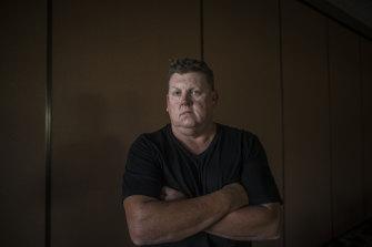 Former mine worker Simon Turner.