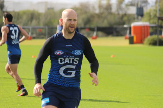 Gary Ablett is hoping to rejoin his Cats teammtes on September 4.