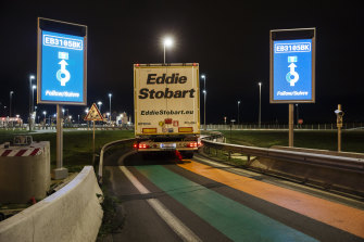 The exodus of truck drivers after Brexit has contributed to the fast-food shortages across Britain.