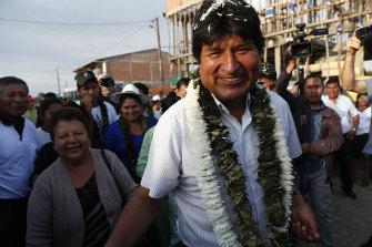 Bolivia's President Evo Morales is seeking a fourth term.
