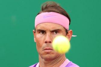 Rafael Nadal is off to a winning start in Monaco.