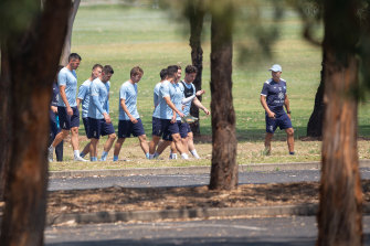 Sydney FC's current training base is at Macquarie University, but that could soon change.