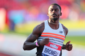 American Trayvon Bromell is favourite the 100m in Tokyo.