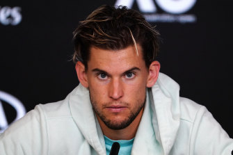 Dominic Thiem says the next generation is one step closer to breaking down the big three.