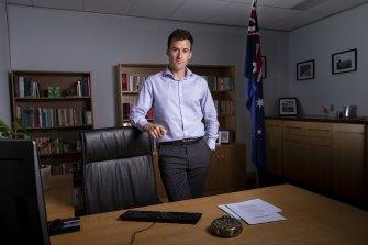 Opposition spokesman for higher education and former teacher Matt Bach.