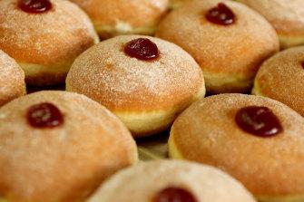 I never forgot the taste of my first jam doughnut.