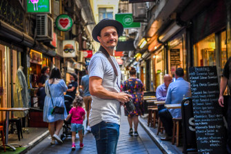 Photographer Chris Cincotta, who launched the wildly successful Humans in Melbourne, says we are a resilient city.