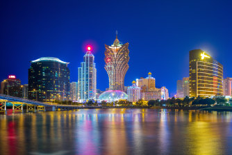 Shares in several Macau casino companies plunged on Wednesday.
