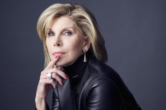 "Christine Baranski: ""It has given me the greatest pleasure to play a woman of such high intelligence and impeccable professionalism but also a woman like myself."""