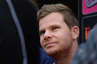 Steve Smith was due to play in the IPL but is currently trying to stay fit at home.
