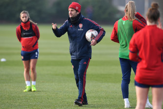 Arsenal women's coach, Joe Montemurro, has endured the long road to the top.