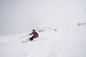 The NSW Snowy Mountain ski fields, including Perisher, have received a large amount of snow ahead of an expected cold snap across the weekend.