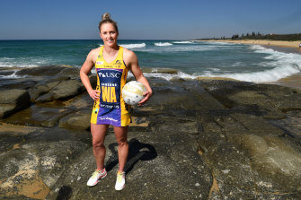 Lightning's Laura Scherian has a big task ahead of her in the Super Netball grand final.