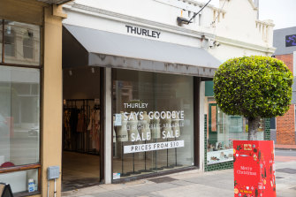 Closing down ... Thurley is the latest casualty.