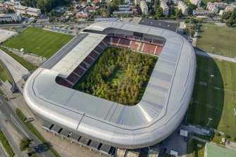 Art of the stadium: For Forest