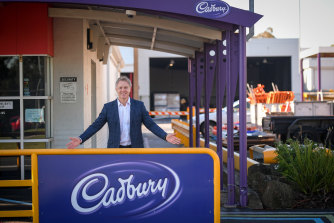 The Mondelez factory makes Cadbury and The Natural Confectionery Company products.