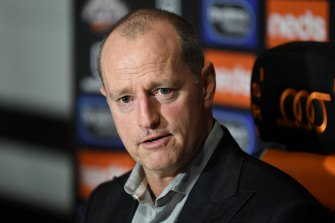 Michael Maguire will continue to coach the Tigers.