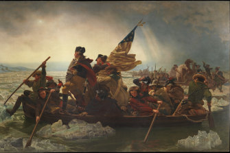 A classic now questioned: Emanuel Leutze's Washington Crossing the Delaware, 1851