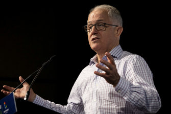 Former prime minister Malcolm Turnbull has called United States President Donald Trump the world's leading climate denier.