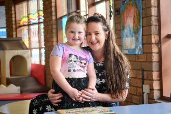 The early childhood support program in Benalla has proven life-changing for Cassie Turner and her four-year-old daughter Airlie.