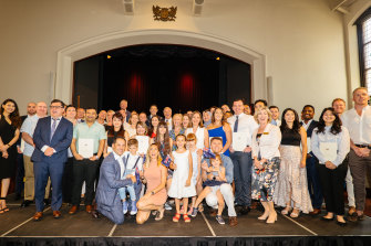 City of Perth welcomes newest Aussie citizens.