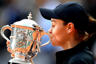 Barty's French Open defence is on hold indefinitely.