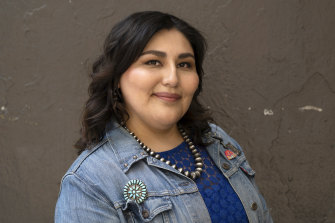 Co-creator Sierra Teller Ornelas; Rutherford Falls is the first-ever comedy with a Native American showrunner.
