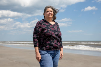 Ocean City resident Suzanne Hornick is leading the opposition to a massive offshore wind farm off the New Jersey coast.