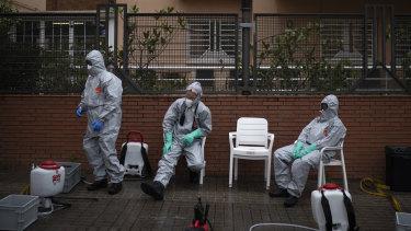 Spain suffers its deadliest day from coronavirus; two Australian Border Force officials test positive