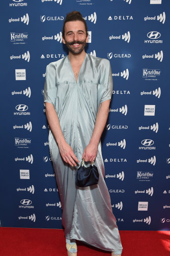 Queer Eye's Jonathan Van Ness at the 30th Annual GLAAD Media Awards in 2019.