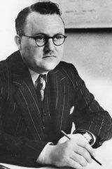 Warren Denning, c. 1940.