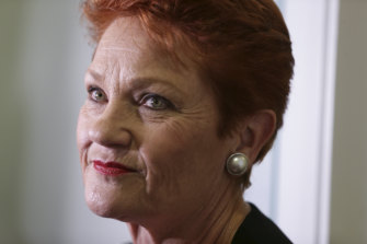 One Nation Leader Pauline Hanson asked the government to make her the co-chair of the parliamentary committee.