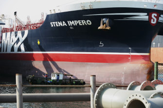 British tanker the Stena Impero was released by Iran in late September after being captured by the Iranian Revolutionary Guard.