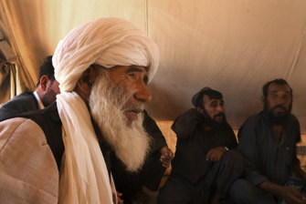 Tribal elder Abdul Baqi organised with local groups to repay the $80 to Zarmina's purchaser.