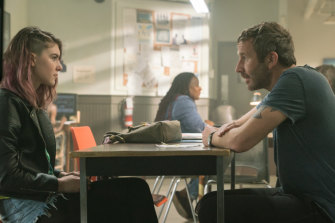 Get Shorty starring Chris O'Dowd (right) is in its third season.